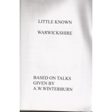 Little Known Warwickshire - Used