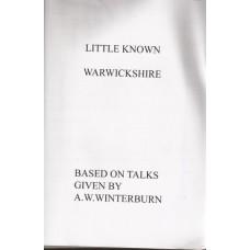 Little Known Warwickshire - Used