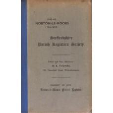Norton-Le-Moors 1754-1837