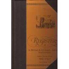 Registers of St.Michael & All Angels, Adbaston Staffordshire - used