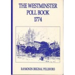 The Westminster Poll Book  1774 - Used