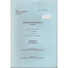 Dudley Parish Registers: Dudley St Thomas - Used