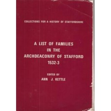 A List of Families in the Archdeaconry of Stafford 1532-3 - Used