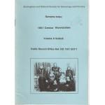 1851 Census Warwickshire Surname Index Volume 9 Solihull - Used