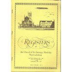 Registers of the Church of St. George, Hockley Warwickshire - Used