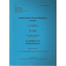 Caverswall Parish Registers - Used