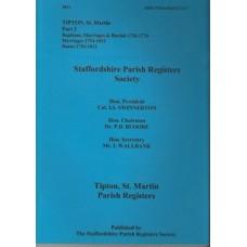 Tipton St Martin Parish Registers - Used