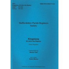 Kingstone St John the Baptist Parish Registers - Used