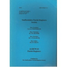 Alrewas Parish Registers - Used