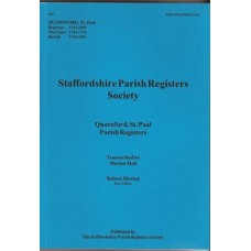 Quarnford St Paul Parish Registers - Used