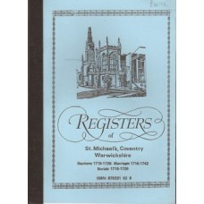 Registers of St Michael's, Coventry Warwickshire - Used