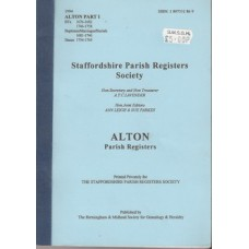Alton Parish Registers part 1- Used