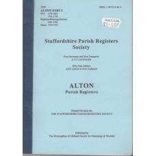 Alton Parish Registers part 1- Used