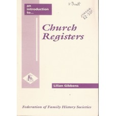 Church Registers - Used