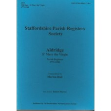 Aldridge St Mary the Virgin Parish Registers 1771-1900 - Used