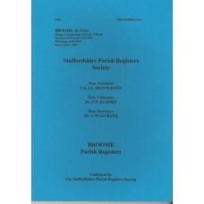 Broome Parish Registers - Used