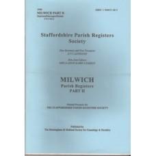Milwich Parish Register Part II - Used