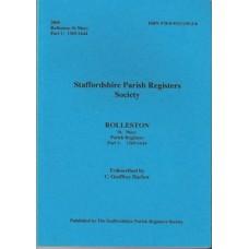 Rolleston St Mary Parish Registers Part 1- Used