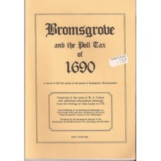 Bromsgrove and the Poll Tax of 1690 - Used