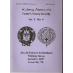 South-Eastern & Chatham Railway Issue - Used