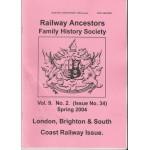 London, Brighton & South Coast Railway Issue - Used
