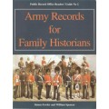 Army Records for Family Historians - Used