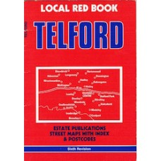 Telford - Local Red Book- Estate Publications, Street Maps with index and Postcodes - Used