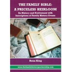 The Family Bible: A Priceless Heirloom - Used