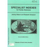 Specialist Indexes for Family Historians - Used