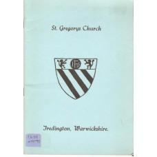 The Parish Church of St. Gregory Tredington Warwickshire - Used