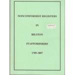Nonconformist Registers in Bilston Staffordshire 1785-1887 - Used