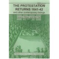 The Protestation Returns 1641-42 and other Contemporary Listings - Used
