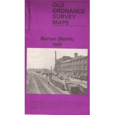 Burton (North)  map 1900 - Used