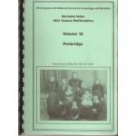 1851 Census Staffordshire Surname Index. Volume 12 Penkridge - Used