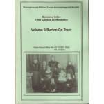 1851 Census Staffordshire Surname Index. Volume 9 Burton on Trent - Used