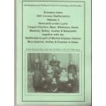 1851 Census Staffordshire Surname Index. Volume 3  Newcastle-under-Lyme, Chapel Chorlton, Maer, Whitmore, Keele, Madeley, Betley, Audley and Newcastle