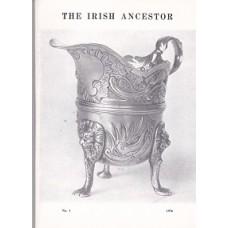 The Irish Ancestor Vol. V111, No. 1 1976 - Elizabeth Mettrick - Used