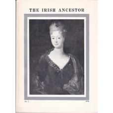 The Irish Ancestor Vol X, No. 2 1978 -  Used