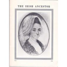 The Irish Ancestor Vol X, No. 1 1978 -  Used