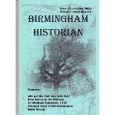 Birmingham Historian - Issue 23 : October 2002 - USED