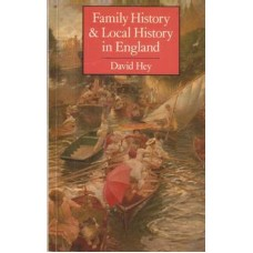 Family History & Local History in England  - Used