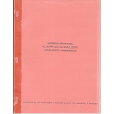 Copton Hackett - St. Michael & All Saints Church -  Monumental Inscriptions - Used book
