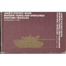 Jane's Pocket Book Modern Tanks & Armoured  Fighting Vehicles - By Christopher F Foss - USED