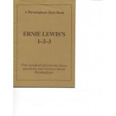 A Birmingham Quiz Book - Ernie Lewis's 1-2-3 - One Hundred & Twenty Three Questions & Answers About Birmingham - USED