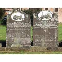 Birmingham Cemeteries - Warstone Lane, Key Hill, Handsworth, Witton - Images of original burial records from the registers